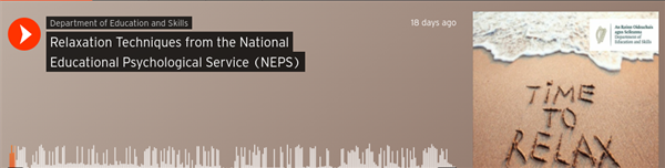 NEPS Podcast - Relaxation Techniques