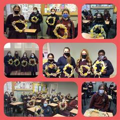 TY Activities - Flower arranging and Drumming