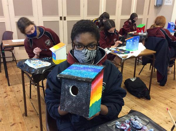 TY Activities - Bird House Project by Emily English