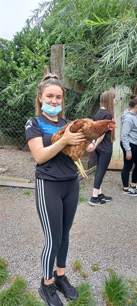 TY Bonding in Causey Farm Monday 6th September 2021