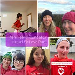 Irish Heart Foundation Love Run 14th Feb 2021