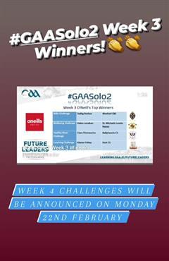 GAA Future Leaders Solo2 Challenge Winner!