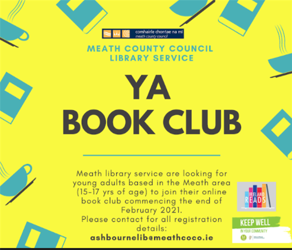 Young Adult book Club - Meath Libraries